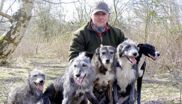 Jim Greenwood and dogs